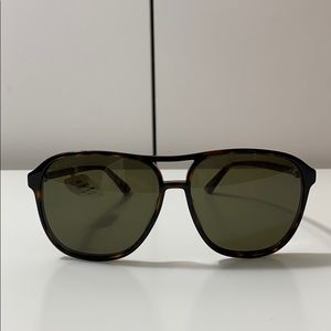 Gucci aviator sunglasses tortoise shell